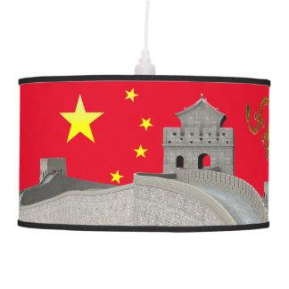 Great Wall of China Pendant Lamp