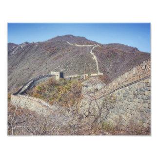 Great Wall of China Photo Print