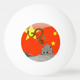 Great Wall of China Ping-Pong Ball