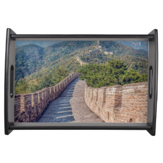 Great Wall of China Serving Tray