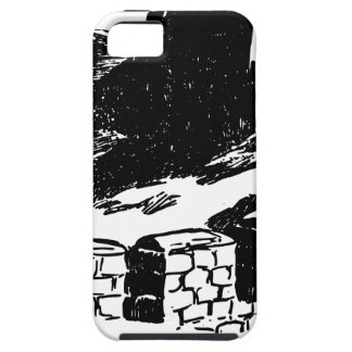 Great Wall of China Sketch iPhone 5 Case