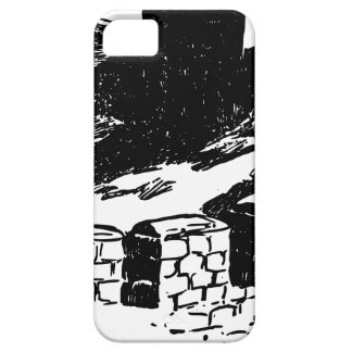 Great Wall of China Sketch iPhone 5 Cover