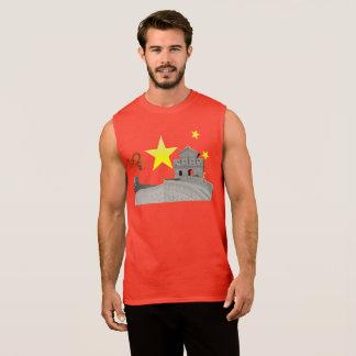 Great Wall of China Sleeveless Shirt