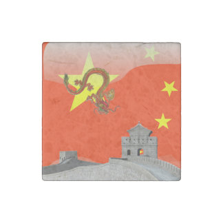 Great Wall of China Stone Magnets