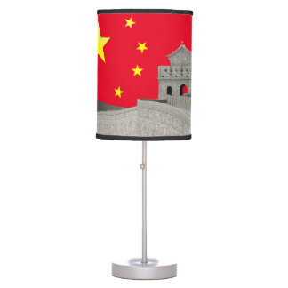 Great Wall of China Table Lamps