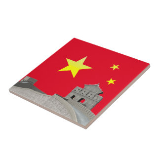 Great Wall of China Tile