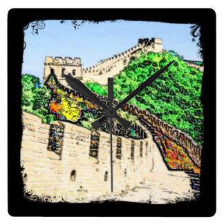 Great Wall of China Wall Clocks