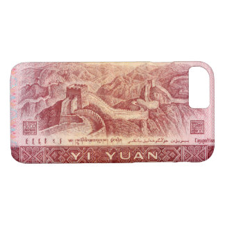 Great Wall on the Back of Chinese Money Bill iPhone 8/7 Case