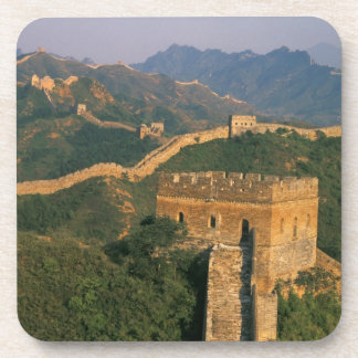 Great Wall winding through the mountain, China Drink Coasters