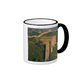 Great Wall winding through the mountain, China Coffee Mugs