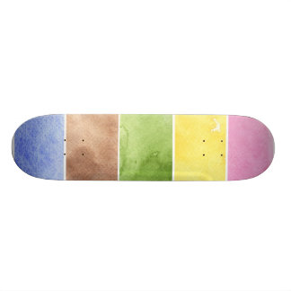 great watercolor background - watercolor paints custom skateboard
