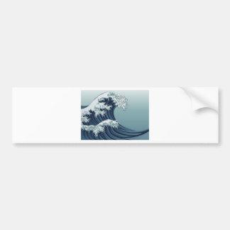 Great Wave Bumper Sticker