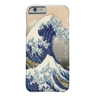 Great Wave Fine Art 葛飾北斎「神奈川沖浪裏」 Barely There iPhone 6 Case
