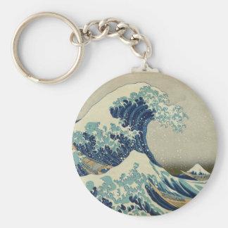 Great Wave Keychain