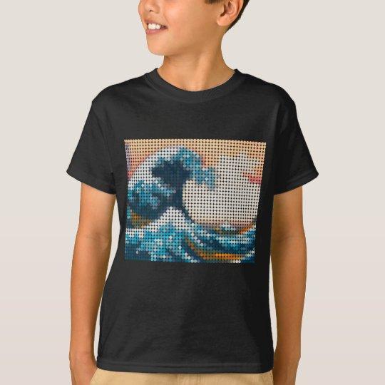 Great Wave Mosaic T-Shirt