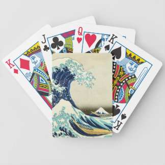 Great Wave off Kanagawa Bicycle Playing Cards