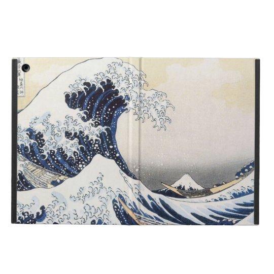 Great Wave off Kanagawa by Hokusai Cover For iPad Air