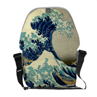 Great Wave Off Kanagawa Courier Bag