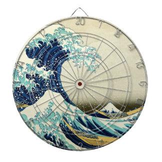 Great Wave off Kanagawa Dartboard