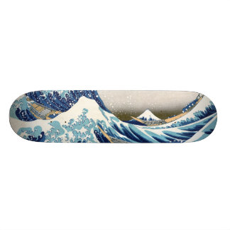 Great Wave Off Kanagawa Hokusai Fine Art Skate Deck