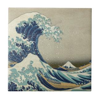 Great Wave off Kanagawa - Hokusai Tile