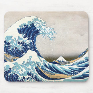 Great Wave Off Kanagawa Japanese Fine Art Mouse Pad