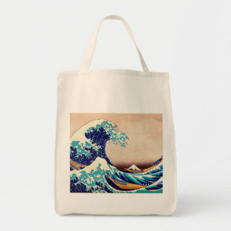 Great Wave Off Kanagawa Japanese Vintage Fine Art Tote Bag