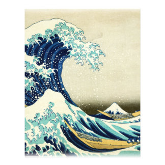 Great Wave off Kanagawa Letterhead