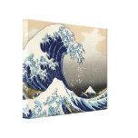 Great Wave off Kanagawa Oriental Fine Art Stretched Canvas Print