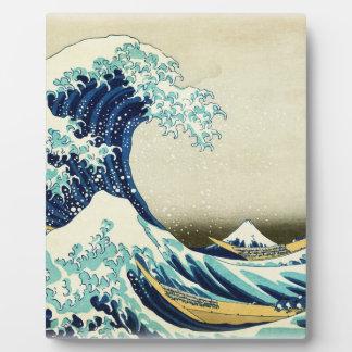 Great Wave off Kanagawa Plaque