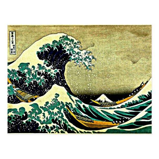 Great Wave off Kanagawa Postcard
