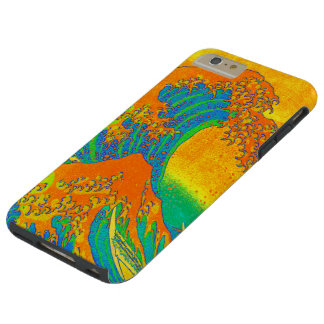 """Great Wave Off Kanagawa"" Tough iPhone 6 Plus Case"