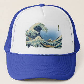 Great Wave off Kanagawa Trucker Hat