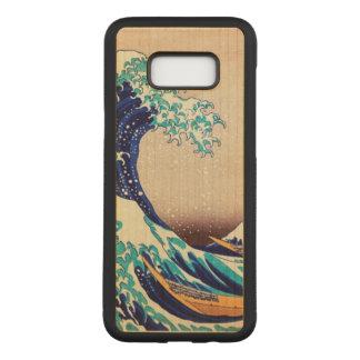 Great Wave Off Kanagawa Vintage Japanese Art Carved Samsung Galaxy S8+ Case