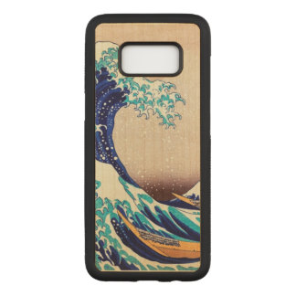 Great Wave Off Kanagawa Vintage Japanese Art Carved Samsung Galaxy S8 Case
