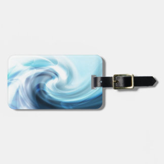 Great waves for surfing luggage tag