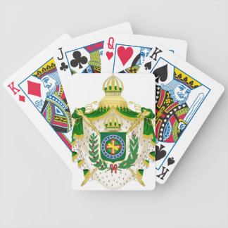 Great Weapons of the Empire of Brazil Bicycle Playing Cards