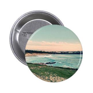 Great Western Beach Newquay 2 Inch Round Button
