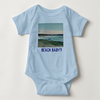 Great Western Beach Newquay Baby Bodysuit
