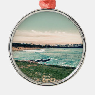 Great Western Beach Newquay Metal Ornament
