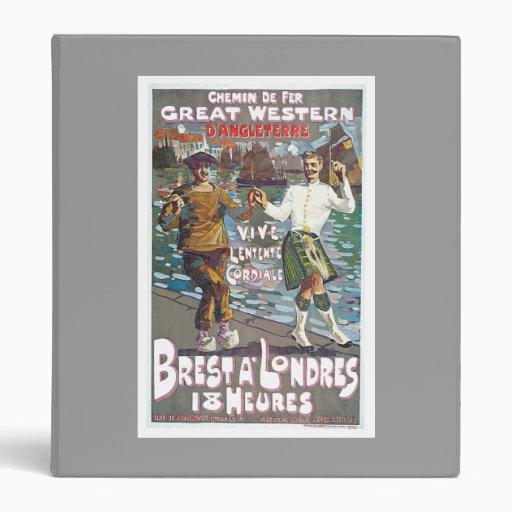 Great Western Railway, Brut a Londres Travel Vinyl Binders