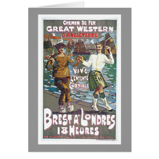 Great Western Railway, Brut a Londres Travel Cards
