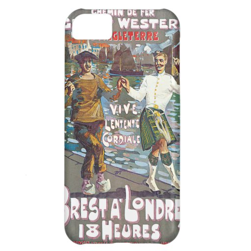 Great Western Railway, Brut a Londres Travel Case For iPhone 5C