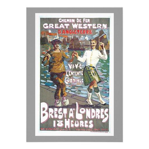 Great Western Railway, Brut a Londres Travel Custom Announcements