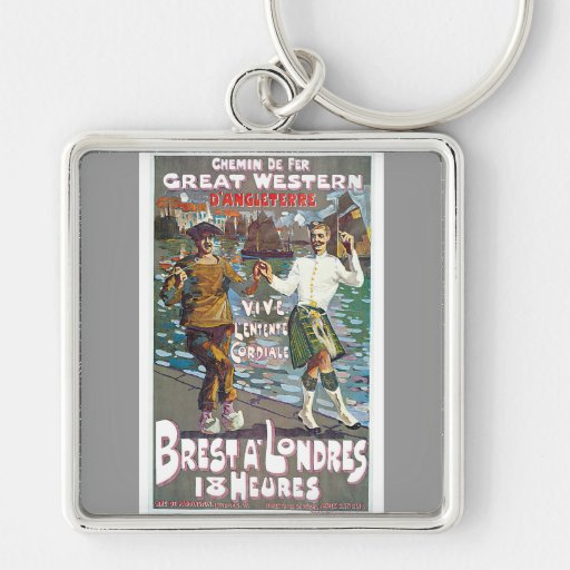 Great Western Railway, Brut a Londres Travel Key Chains