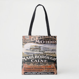 Great western Railway Travel Vintage tote bag