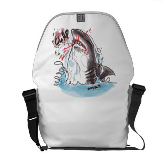 great white courier bag