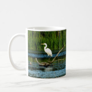 Great White Egret Mug