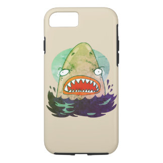 great white funny cartoon iPhone 8/7 case