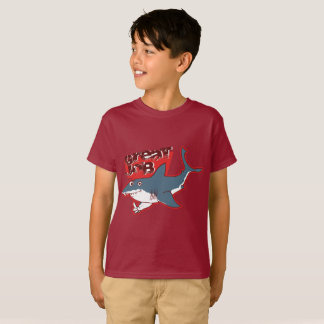 great white great job funny cartoon T-Shirt